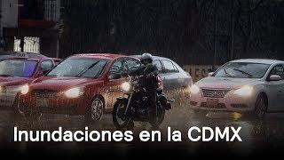 Inundaciones en Ciudad de México - Clima - En Punto con Denise Maerker thumbnail