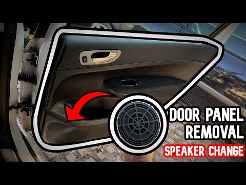 How to remove door panel / Change speaker | Peugeot 307