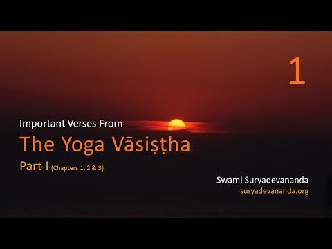 Yoga Vasistha, Important Verses, Part 1