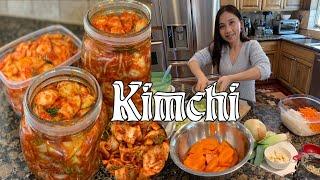 How to make Korean Kimchi - Cách làm kim chi Hàn Quốc - Kim Chi Cải Thảo