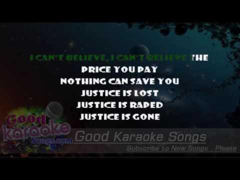 And Justice For All -  Metallica (Lyrics Karaoke) [ goodkaraokesongs.com ]
