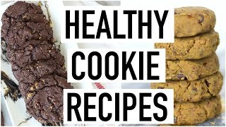 HEALTHY COOKIE RECIPES! Easy & Yummy! Cooking With Liv Ep. 23