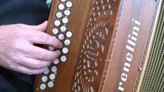The Cameronian reel - B/C and C#/D fingering compared