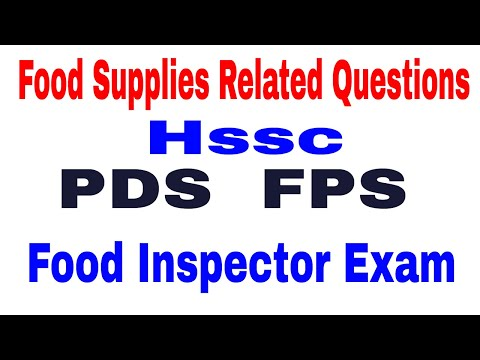 Food Supplies Related Questions