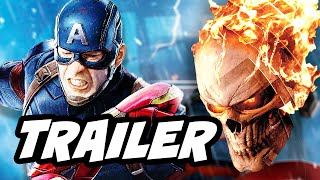 Agents Of SHIELD Season 4 Episode 1 Ghost Rider Trailer and Captain America Easter Eggs