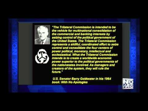 Senator Barry Goldwater on the Trilateral Commission in 1964