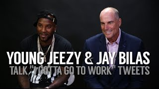 "Jay Bilas And Young Jeezy Talk ""I Gotta Go Work"" Tweets"