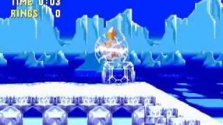 Sonic 3 & Knuckles (Tails) : Part 7 - Slippery Fun in the Icecap