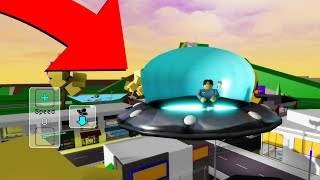 Roblox BrookHaven 🏡RP HΟW TO GET THE UFO (Alien Spaceship UFO)