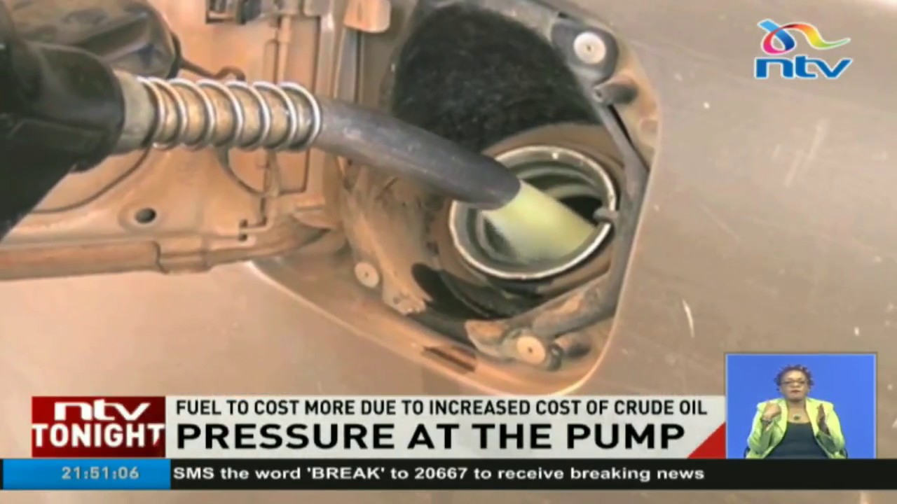 Fuel to cost more due to increased cost of crude oil