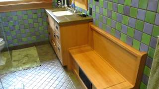 Craftsman Style Bathroom Cabinets
