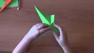 Копия видео 4 урок оригами Попугай