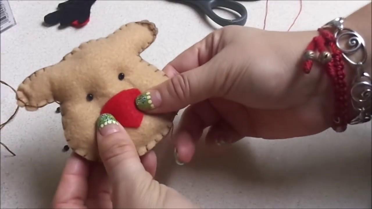 Manualidades para navidad reno para decorar el arbol de - Para navidad manualidades ...