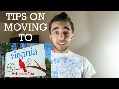 Tips on Moving To And Living in Virginia!