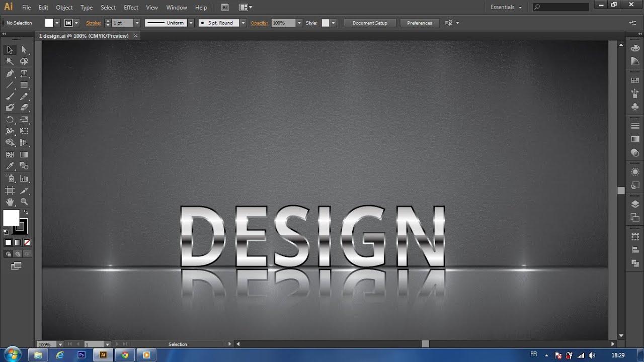 Metal Logo Design Tutorial