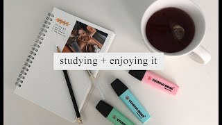 tips for studying and enjoying it