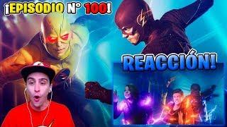¡¡SE CONFIRMÓ MI TEORÍA!! ⚡ The Flash 5x08 *Episodio 100* REACCIÓN! ALUCINANTE!!!