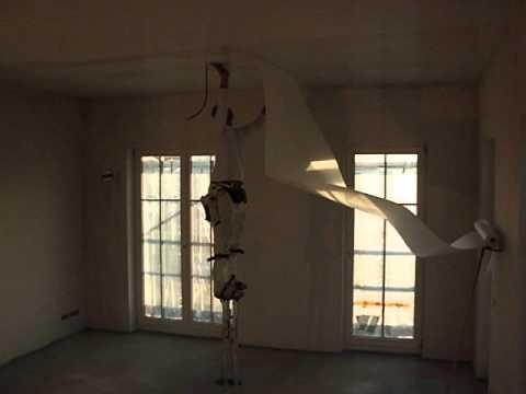 Cool Airless,mit 1m Stelzen Decken Vlies kleben - YouTube YC85