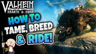 Valheim: How to Tame, Bręed & Ride Lox - Hearth & Home
