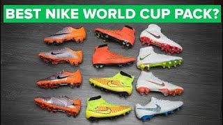 BEST NIKE WORLD CUP FOOTBALL BOOTS EVER? | Nike Just Do It Pack