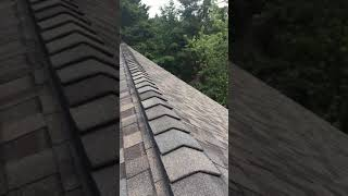 Tips for safely traversing a steep roof