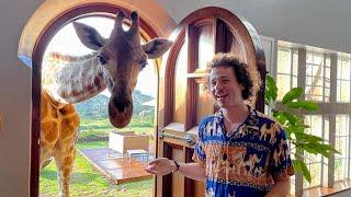El famoso hotel de jirafas en Africa | ¿Vale la pena gastar TANTO? 🦒
