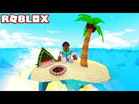 STRANDED ON AN ISLAND IN ROBLOX