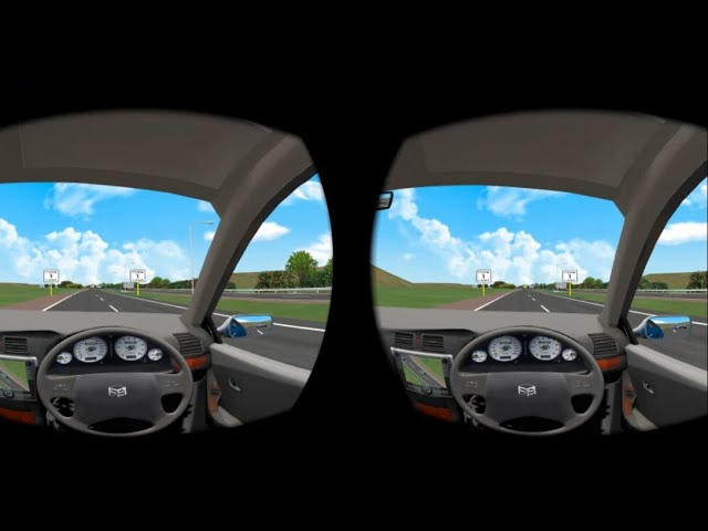 VR Freeway merging rule demo