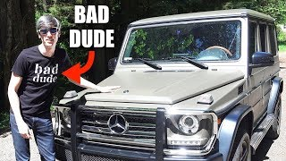 The Mercedes G-Wagon Is For Bad Boys Only