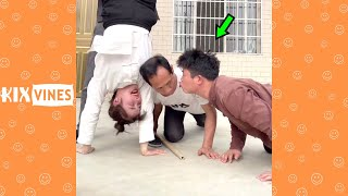 Funny videos 2021 ✦ Funny pranks try not to laugh challenge P283