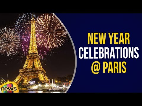 Happy New Year 2019 | New Year's Eve Paris | New Year Fireworks 2019 | Paris New Year Celebrations