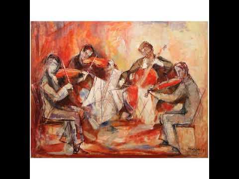 Borivoje Simic String Quartet 1952 (1) String Quartet of Radio Television Ljubljana 1965