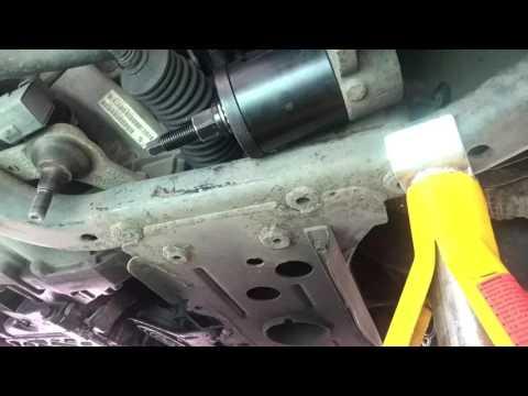 BMW Mini Cooper S 2001-2006 wishbone rear bush removal ...