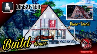 """Gambar cover LifeAfter - Tutorial build A-frame house, manor 11+ by """"TrexGamePlay"""" 