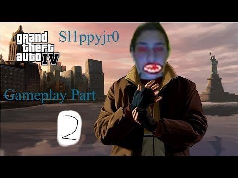 Grand Theft Auto IV Gameplay Part 2 - AWESOME TAXI DRIVER STATUS