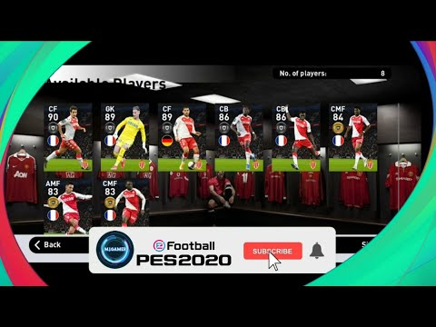 PES 2021 MOBILE  [MONACO PACK OPENING]
