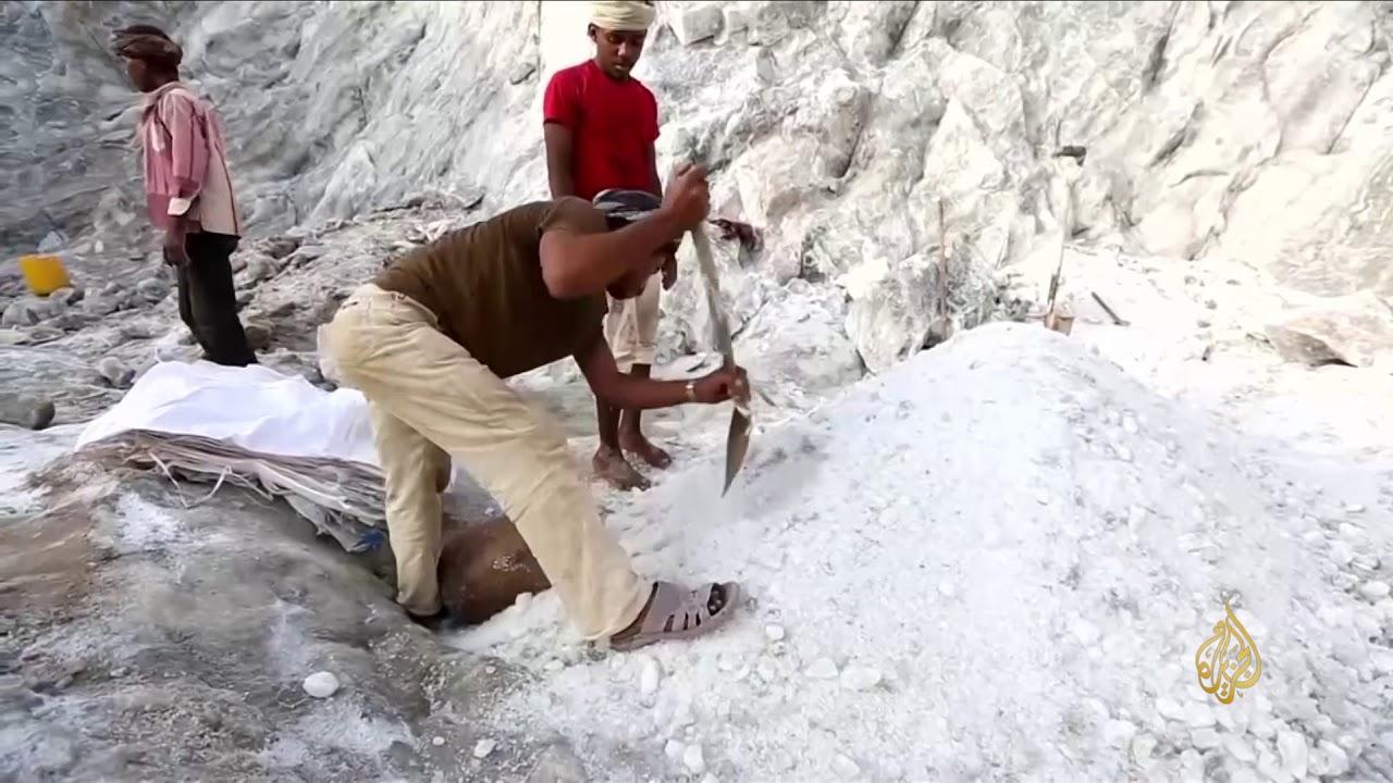 الجزيرة:هذا الصباح- استخراج الملح الصخري مهنة مهددة بالانقراض