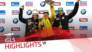 Tina Hermann stops the drought in Innsbruck-Igls | IBSF Official