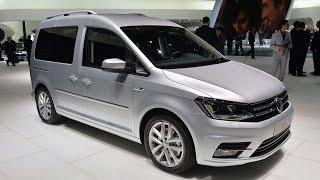 2015 Volkswagen Caddy - 2015 Geneva Motor Show