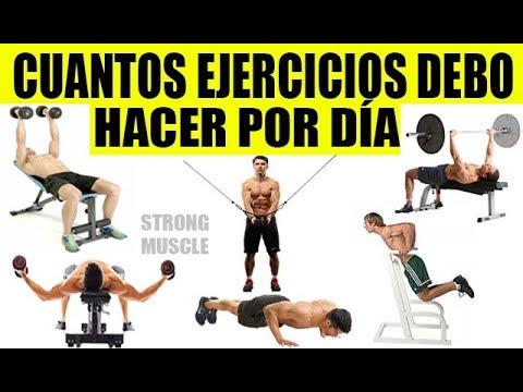 cuantos ejercicios para aumentar biceps