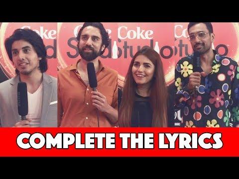 Complete The Lyrics with Momina Mustehsan, Noori, Ali Sethi & Danyal Zafar | MangoBaaz
