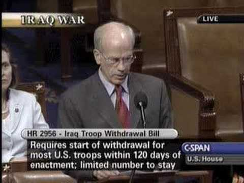 Peter Welch Speaks on the Iraq Redeployment Act