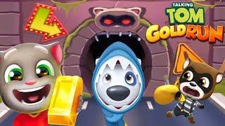 Talking Tom Gold Run Shark Hank's Underwater Adventure –Run! Run! Run! Talking Tom Gameplay