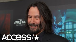 Keanu Reeves Can't Stop Smiling About Halle Berry's 'Crazy' Action Scene In 'John Wick' 3