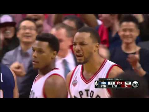 Indiana Pacers vs Toronto Raptors Game 5 | April 26, 2016 | NBA Playoffs 2016
