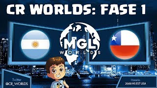 CR WORLDS: ARGENTINA VS CHILE, FASE 1| KManuS88 | Clash Royale