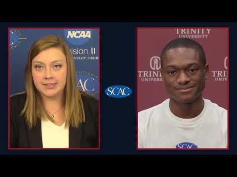 Daylon Gordon, Trinity University, Men's Soccer Defensive Player of the Week (Week 3)