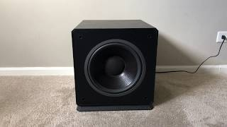 """Energy AS90 Home Theater Powered Active Subwoofer with 12"""" Woofer Specs: Woofer - 12"""" driver Variable crossover and volume control, Low and high power ..."""