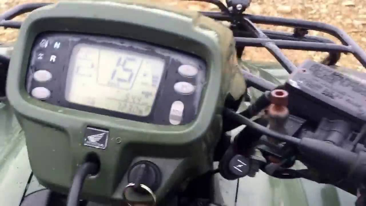 2006 Honda foreman 500 S - YouTube