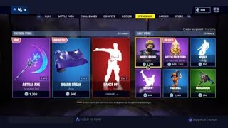 Fortnite Item Shop - May 4 - Kevin the cube skin finally here!